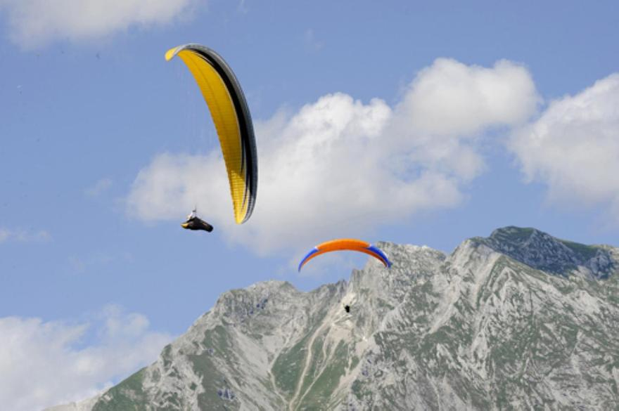 Parapendii in quota