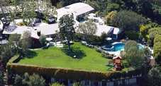 La villa di Ben Affleck e Jennifer Garner (dailymail.co.uk - copyright Turner/Splash News)