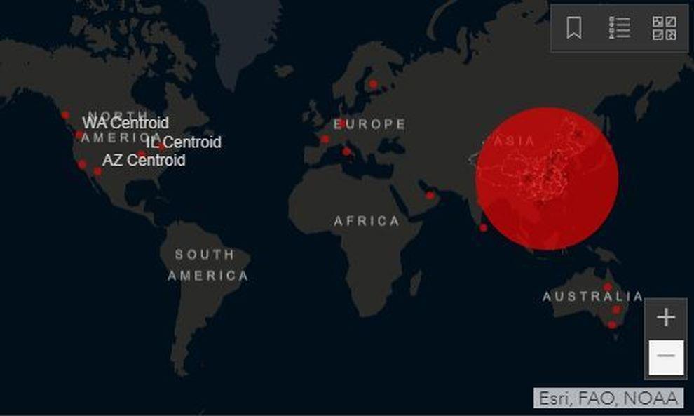Cartina Mondo Maps.Coronavirus La Mappa Dei Casi Nel Mondo Ecco La Distribuzione Geografica