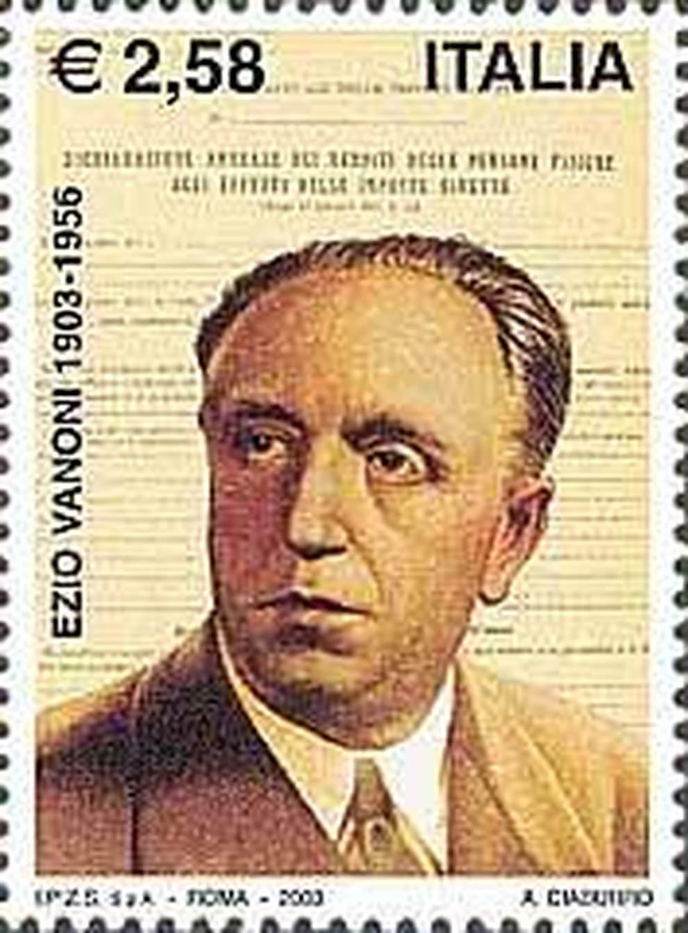 16 febbraio 1956 Muore a Roma l'ex ministro ed economista Ezio Vanoni