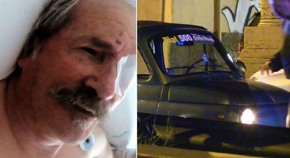 ostia l 39 anziano ferito al posto di blocco indagato il poliziotto che ha sparato all 39 auto. Black Bedroom Furniture Sets. Home Design Ideas