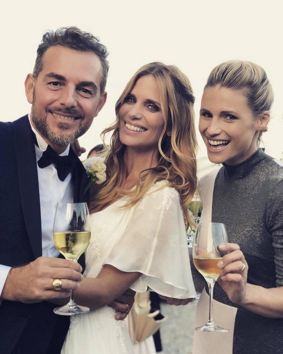 Matrimonio Filippa Lagerback : Michelle hunziker la commovente dedica agli sposi daniele