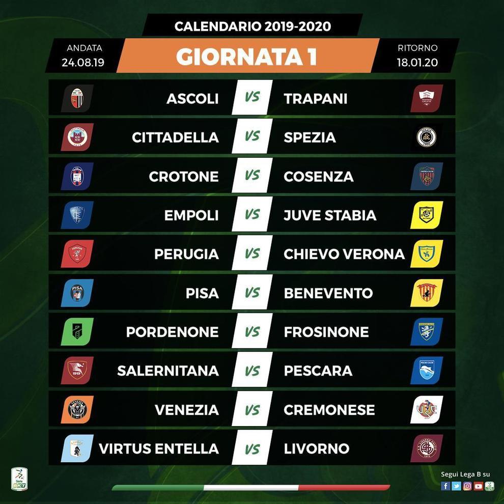 Calendario Cremonese.Serie B Sorteggiato Il Calendario Nella Prima Giornata