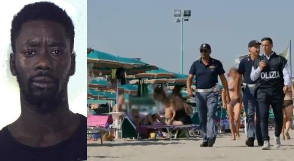 Risultati immagini per donna stuprata abruzzo stazione senegalese foto
