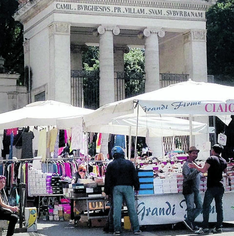 Roma scempio a piazzale flaminio il mercatino della for Il mercatino roma