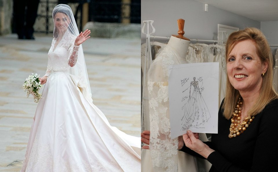 Stilisti Abiti Da Sposa.Kate Middleton L Abito Da Sposa E Stato Copiato Stilista Inglese
