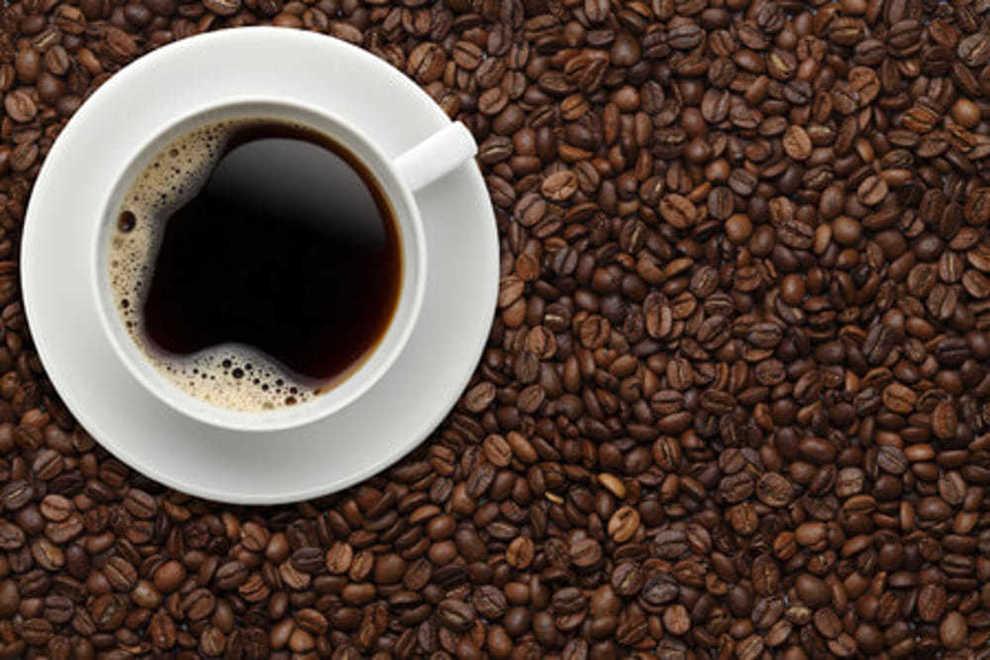 corpo magro di caffè verde