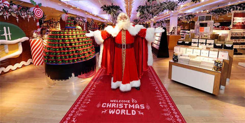 Addobbi Natalizi Harrods.Il Natale Very British Proposto Da Harrods