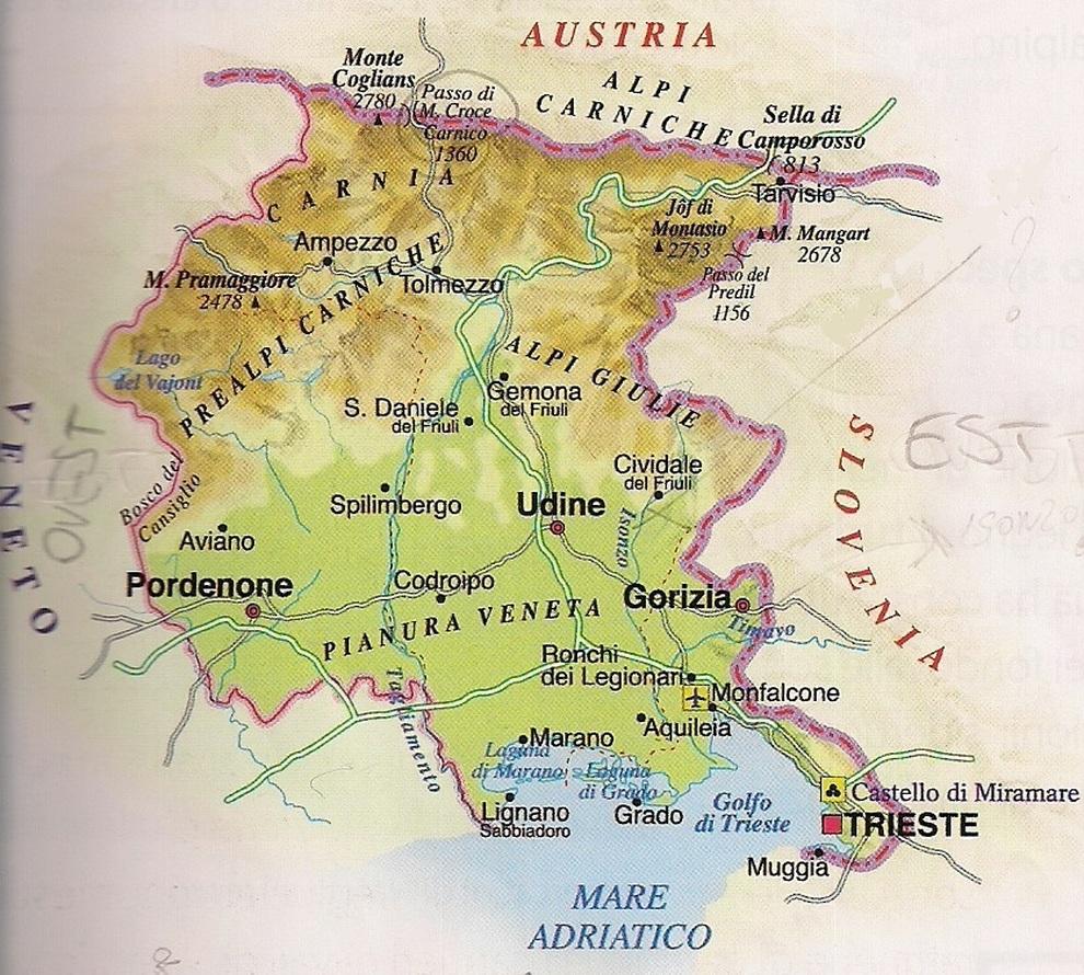 Cartina Geografica Roma E Provincia