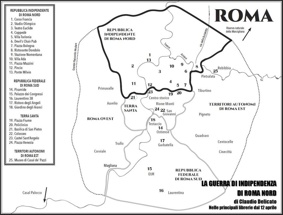 Cartina Roma Nord.L Eterno Inutile Appassionato Dibattito Sui Confini Di Roma Nord