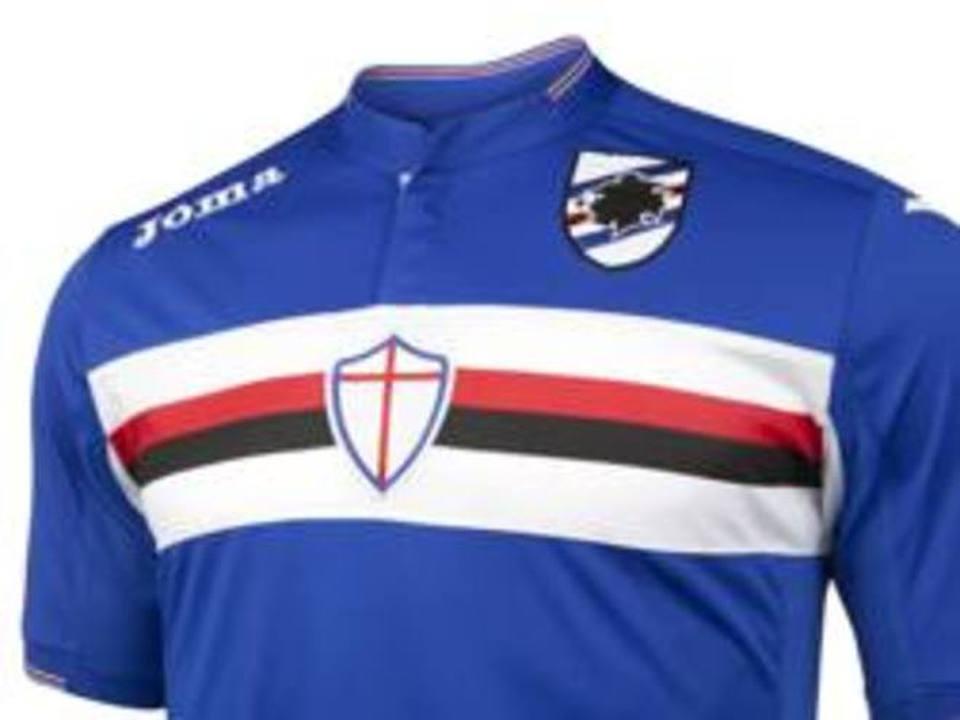 abbigliamento calcio Sampdoria nazionali