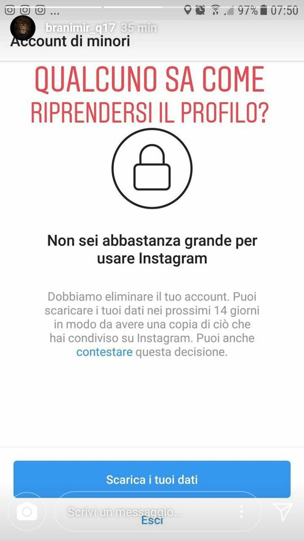 Instagram Contro I Minori Ma Creare Un Account Fake E Un