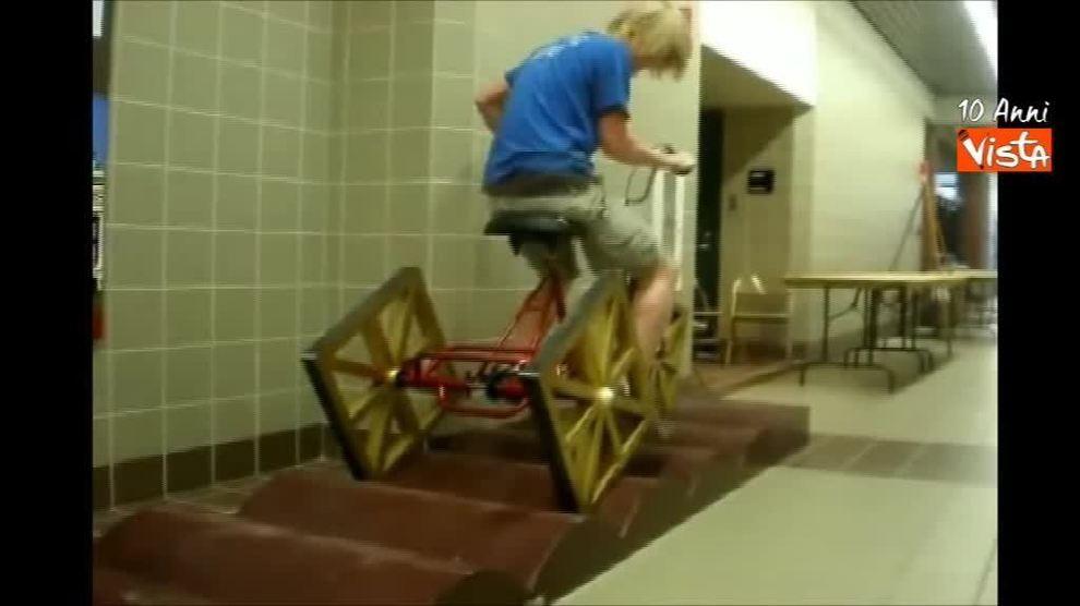 La Bicicletta Con Le Ruote Quadrate Esiste Davvero Ecco Come Funziona