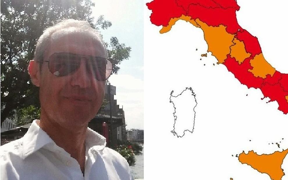 Mappa Sardegna Zona Cagliari.Sardegna Zona Bianca Sarroch E Quei Comuni In Rosso Lo Facciamo Per Il Bene Della Regione