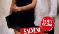 Matteo Salvini ed Elisa Isoardi entrano nella loro nuova casa nel centro di Roma