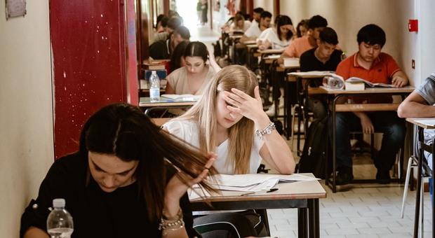 Esami di maturità a Perugia (foto archivio)