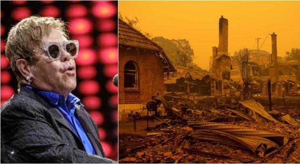 Australia, Elton John dona 1 milione di dollari: da Di Caprio alla Kidman, tutti i vip solidali