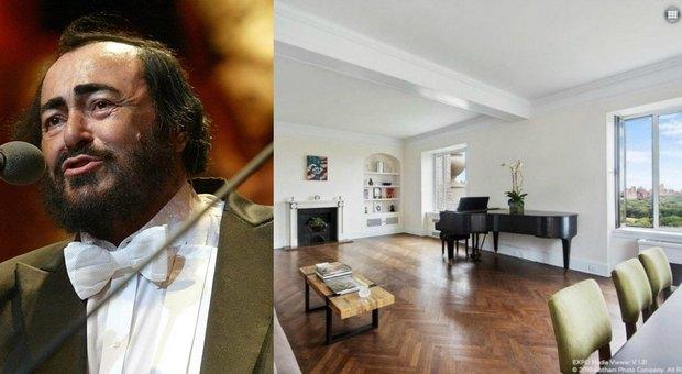 Pavarotti In Vendita L Appartamento Del Tenore A New York Con Vista