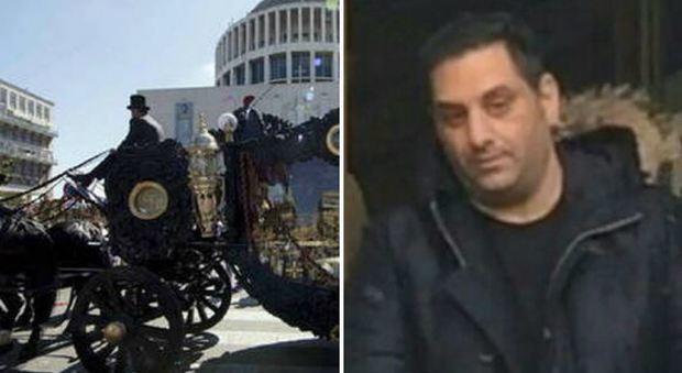 Funerali show, in manette il figlio di Vittorio Casamonica: dai domiciliari minacciava un commerciante