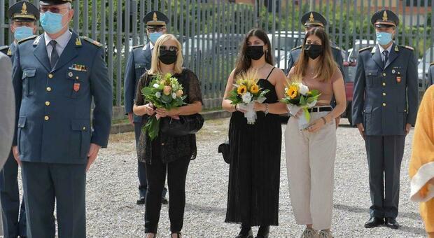 La cerimonia a Rieti