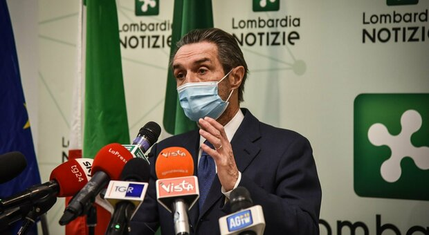 Lombardia zona arancione, Fontana: «Chiederemo risarcimento danni al governo»