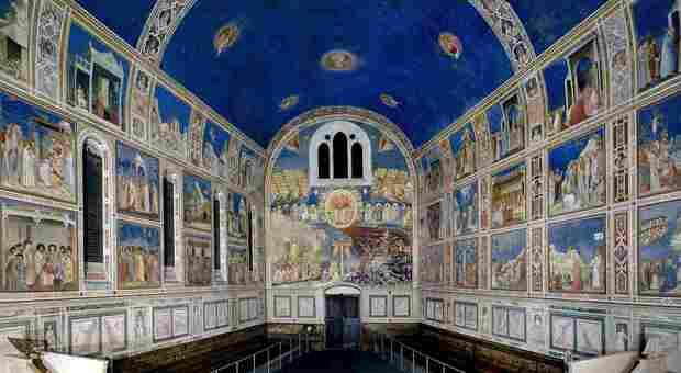 Giotto e gli altri maestri del 300 portano Padova nel patrimonio mondiale dell'Unesco