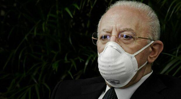 Campania, De Luca: «Dico no al mix di vaccini: invieremo le preoccupazioni scientifiche al Governo»