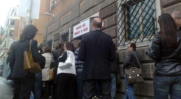 Sciopero dei giudici di pace: dall'8 gennaio al 4 febbraio solo un'udienza a settimana