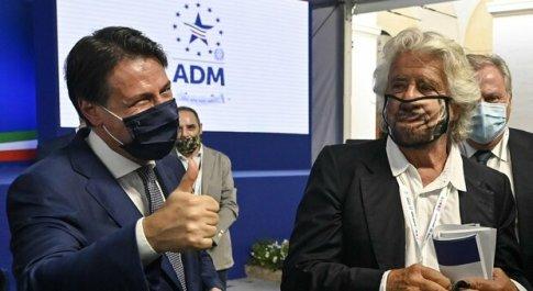 M5S, mediazione Fico-Di Maio: Conte leader (con Grillo) e governo Draghi blindato
