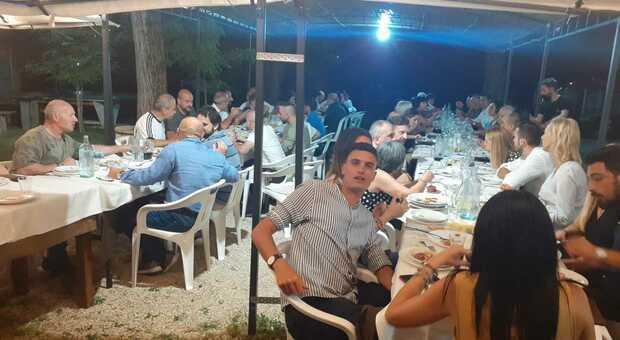 Conviviale di fine stagione per l'Asi Rieti con molti ospiti istituzionali