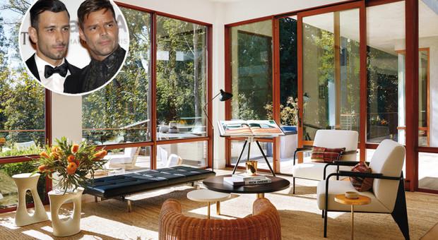 immagine Ricky Martin apre le porte della sua nuova villa a Beverly Hills