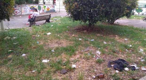 Giardini e aree verdi senza manutenzione
