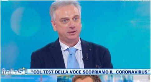 Covid, arriva il test della voce. Professor Saggio a Italia Sì: «Così scopriamo positivi»