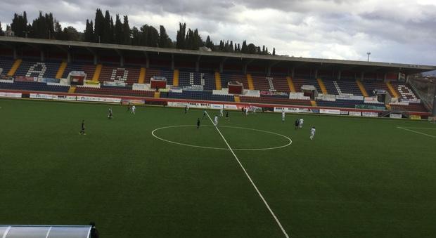 Calcio serie D/Grande prova e rimpianti: per L'Aquila solo 1-1 contro la capolista Arzachena