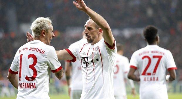 Bundesliga, il Bayern Monaco ricomincia da tre contro il Leverkusen