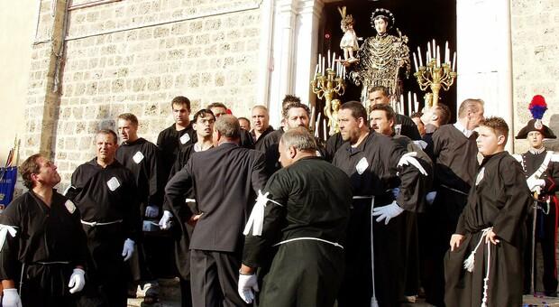 Un'uscita del Santo (foto Archivio)