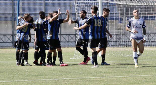 Latina Calcio vince il derby 3-2: Insieme Formia fuori dai play off