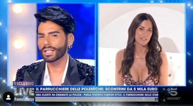 Federico Fashion Style, lite con Antonella Mosetti: «Mi devi 600 euro». E lei lo gela