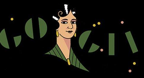"""Il doodle di Google celebra la messicana Maria Grever: compose """"Pensami"""" cantata da Julio Iglesias"""
