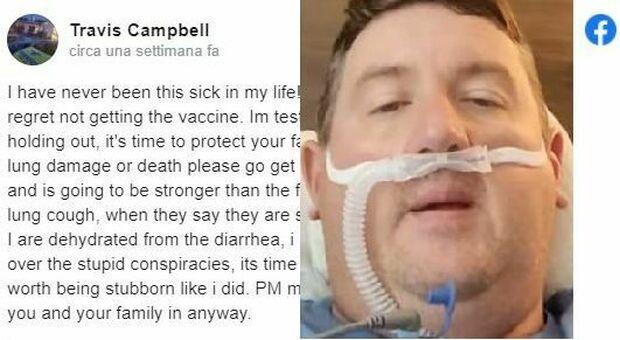 No vax si pente dopo il ricovero in terapia intensiva: «Pensavo di essere invincibile»