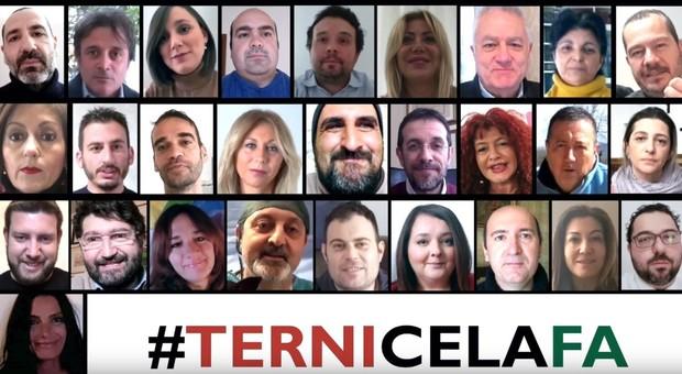Coronavirus, tutto il consiglio insieme in un video per dire #ternicelafa. E il sindaco trova casa ai senzatetto