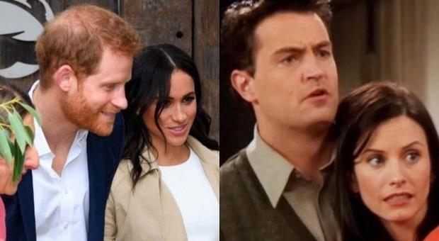 Meghan Markle e il principe Harry, «lo staff li ha soprannominati Monica e Chandler»
