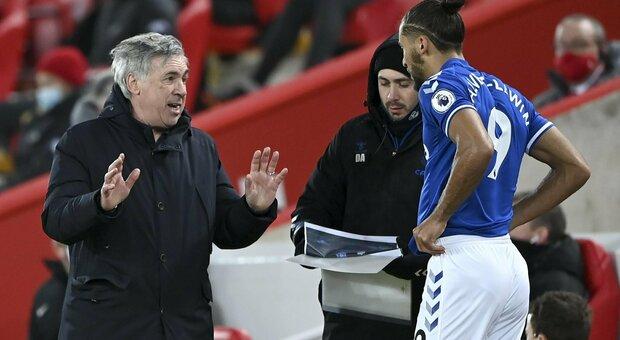 All'Everton di Ancelotti il derby contro il Liverpool. Haaland segna in sforbiciata. Cade l'Atletico Madrid