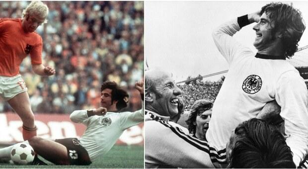 Morto Gerd Mueller, storico centravanti della Germania Ovest campione del mondo del '74
