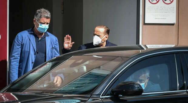 Berlusconi ricoverato da ieri al San Raffaele di Milano: «Valutazione clinica approfondita»