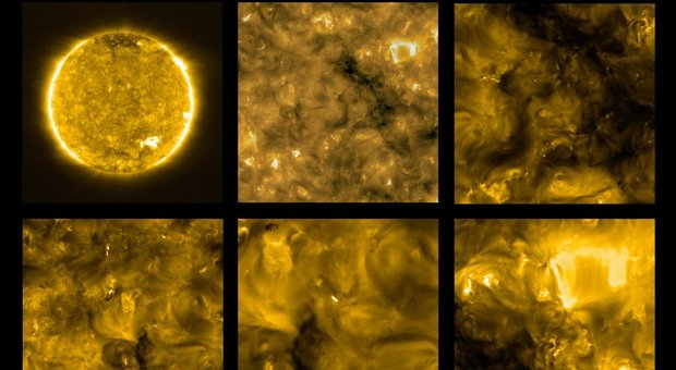 Il sole costellato di falò: ecco le straordinarie immagini inviate dalla sonda Solar Orbiter