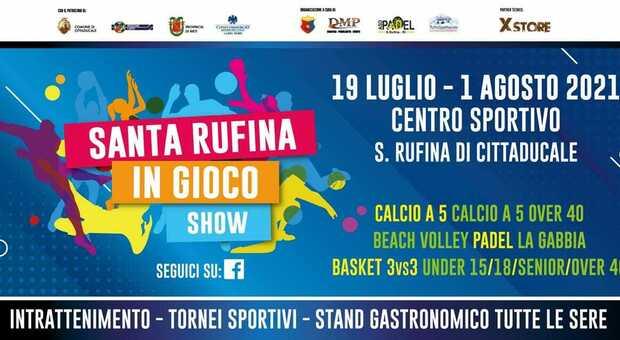 Santa Rufina in gioco: due settimane di sport, musica e gastronomia