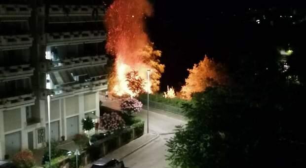 Incendio a Ortona: identificato l'autore