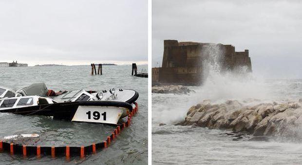 Acqua alta, da Venezia a Napoli 21 porti italiani rischiano di annegare (Palermo l'eccezione)