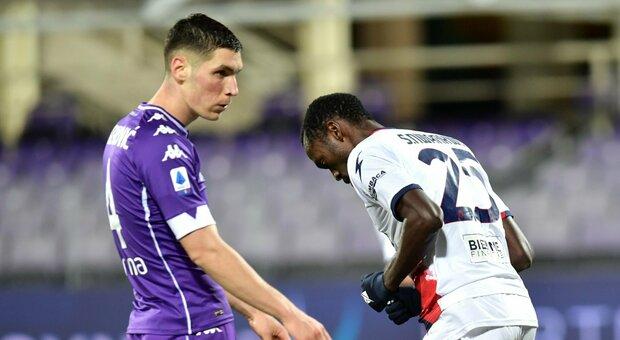 La Fiorentina alza la testa, Crotone battuto al Franchi